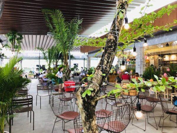 mẫu mái che quán cafe đẹp