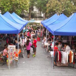 nhà bạt hội chợ