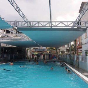 mái che bể bơi đẹp