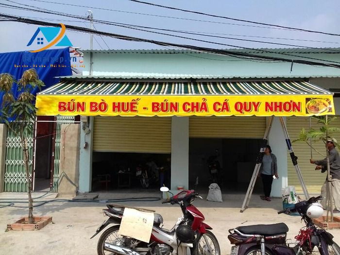 Bạt mái xếp Nguyễn Du nhận thi công mái hiên di động tại Hà Giang