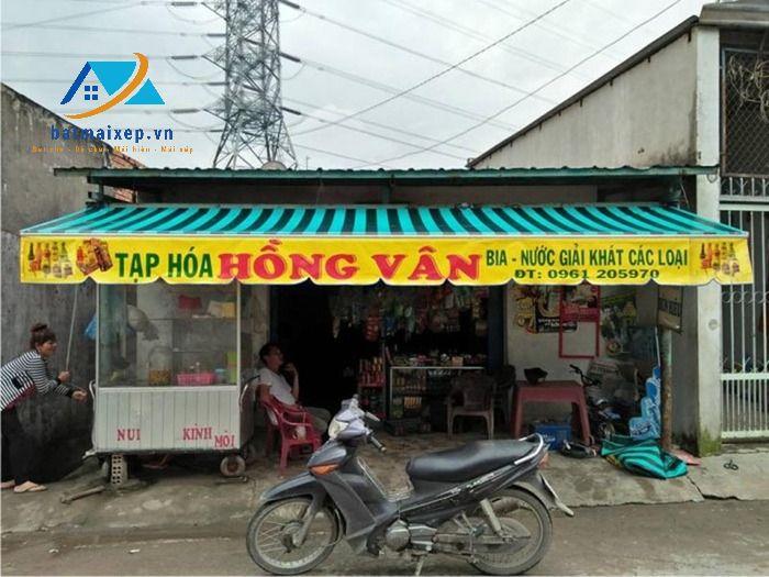 Thi công mái hiên di động tại Hà Giang