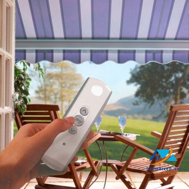 Điều khiển mái hiên dễ dàng với remote