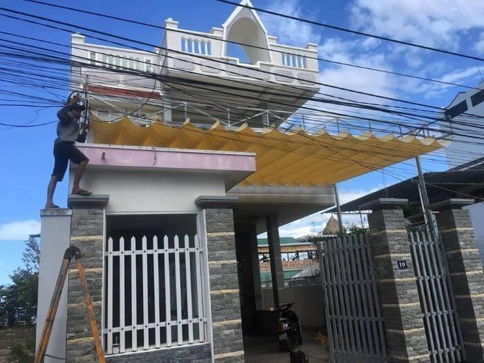Mái xếp nhà 2 tầng