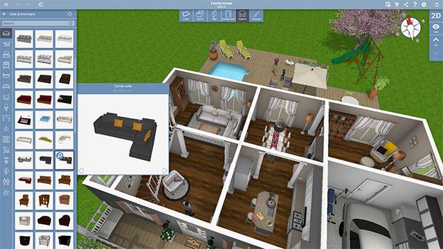 Phần mềm thiết kế nhà Planner 5D