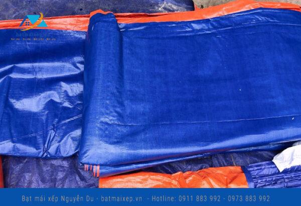 Bạt cam xanh khổ 6m