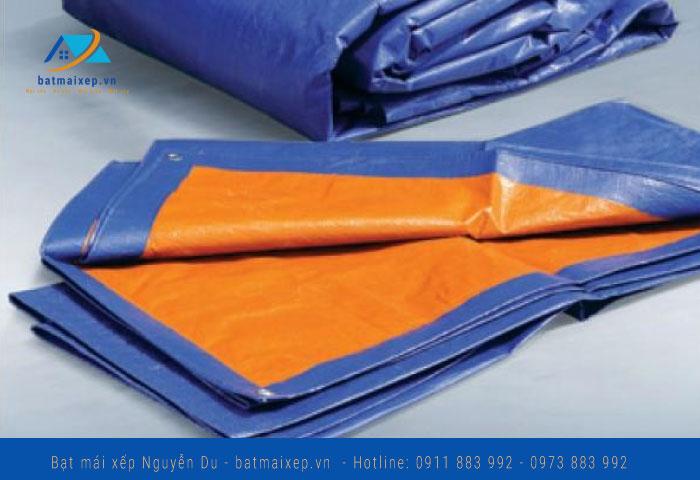 Bạt chất lượng màu cam xanh