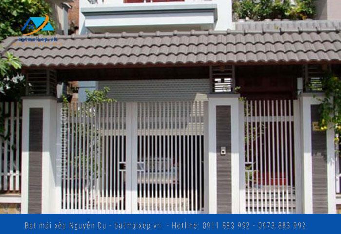Phun cổng sắt đẹp tại Hà   Nội